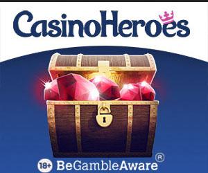 Latest no deposit bonus from Casino Heroes