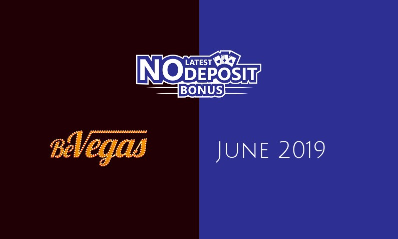 Latest BeVegas Casino no deposit bonus June 2019