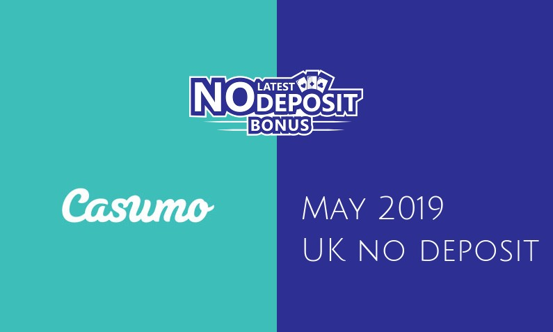 Latest Casumo Casino no deposit UK bonus May 2019