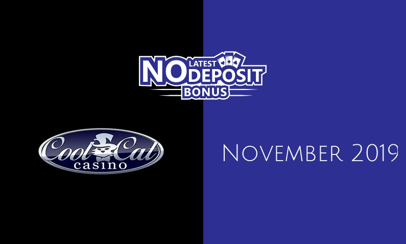 Latest CoolCat Casino no deposit bonus November 2019