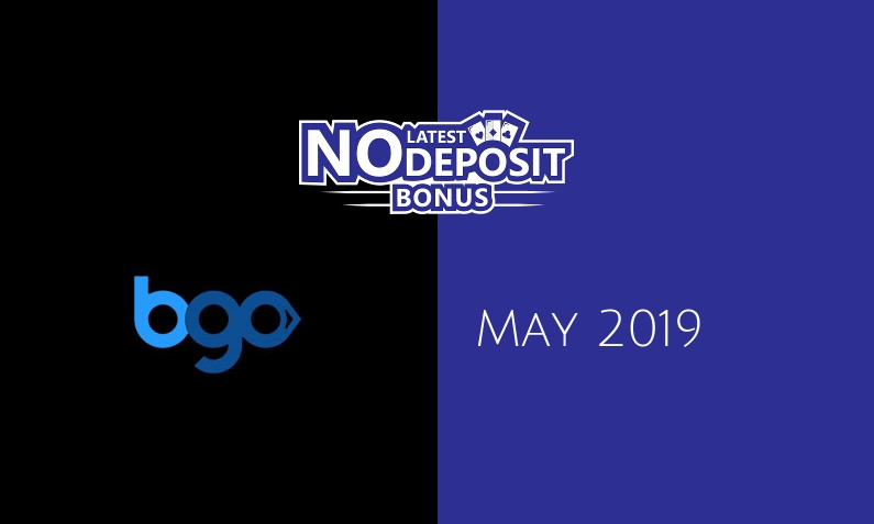 Latest no deposit bonus from Bgo Casino, today 18th of May 2019