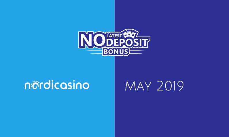 Latest no deposit bonus from Nordicasino- 11th of May 2019