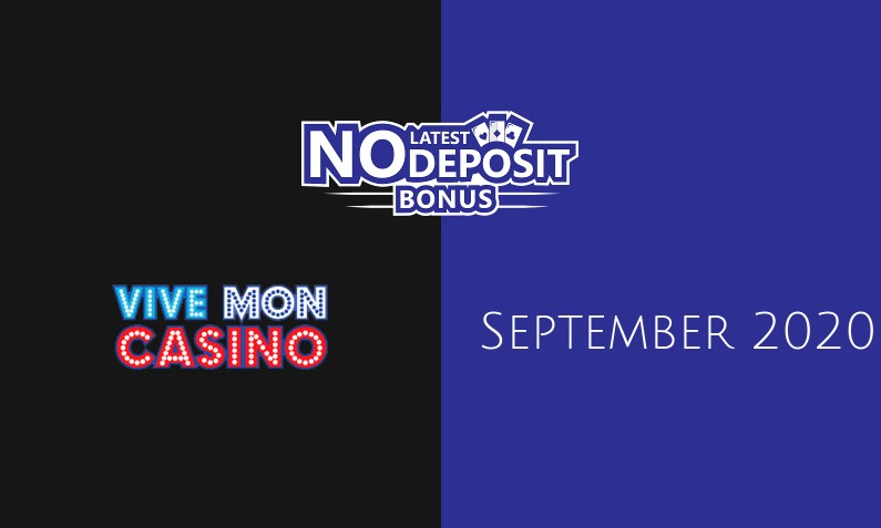 Latest Vive Mon Casino no deposit bonus- 13th of September 2020