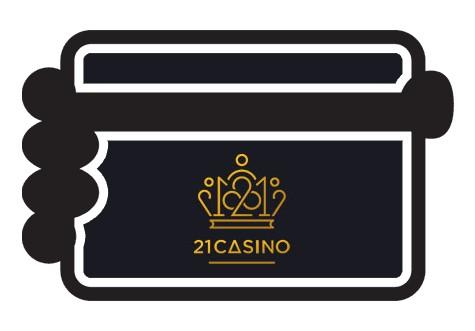 21 Casino - Banking casino