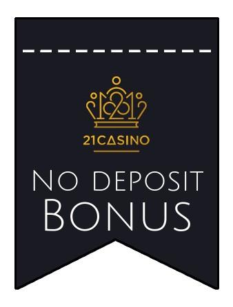 21 Casino - no deposit bonus CR