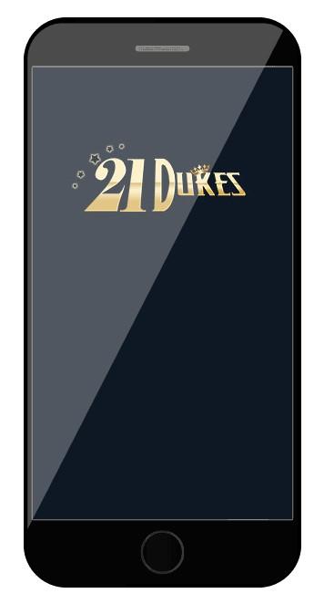 21 Dukes Casino - Mobile friendly