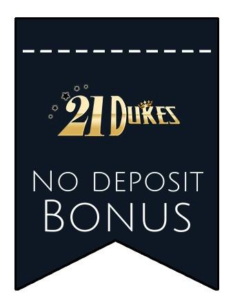 21 Dukes Casino - no deposit bonus CR
