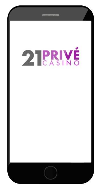 21 Prive Casino - Mobile friendly