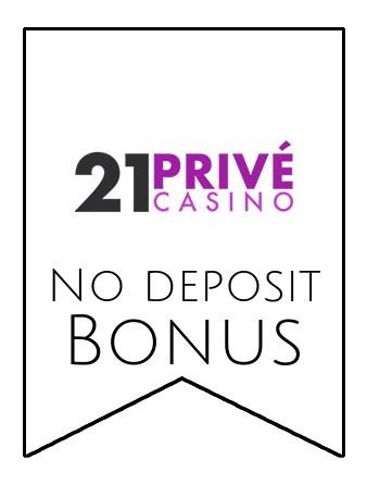 21 Prive Casino - no deposit bonus CR