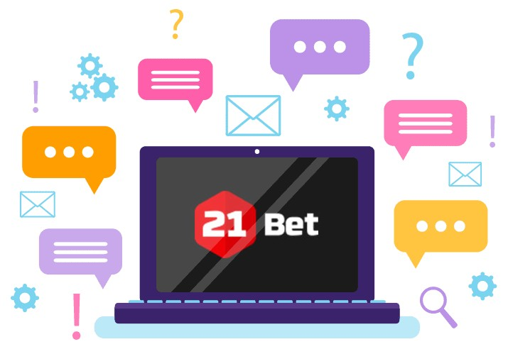 21Bet Casino - Support