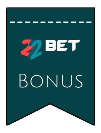 Latest bonus spins from 22Bet Casino