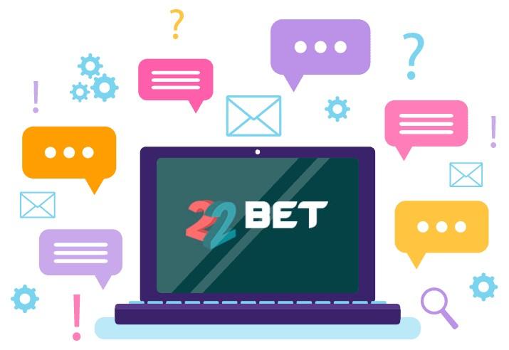 22Bet Casino - Support