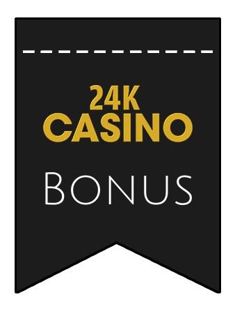 Latest bonus spins from 24k Casino