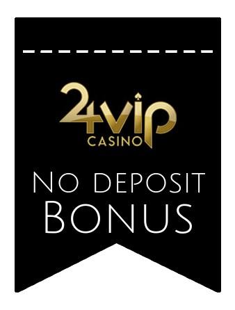 24VIP Casino - no deposit bonus CR
