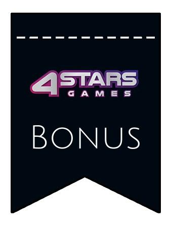 Latest bonus spins from 4StarsGames