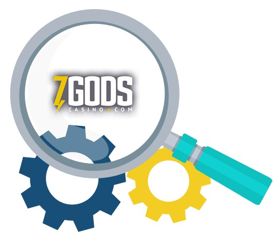 7 Gods Casino - Software