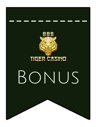 Latest bonus spins from 888 Tiger Casino