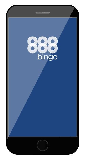 888Bingo - Mobile friendly
