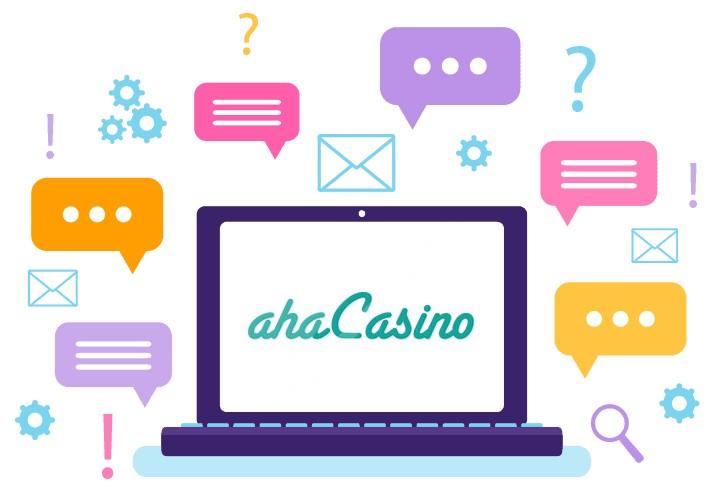 aha Casino - Support