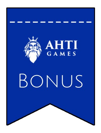 Latest bonus spins from Ahti Games Casino