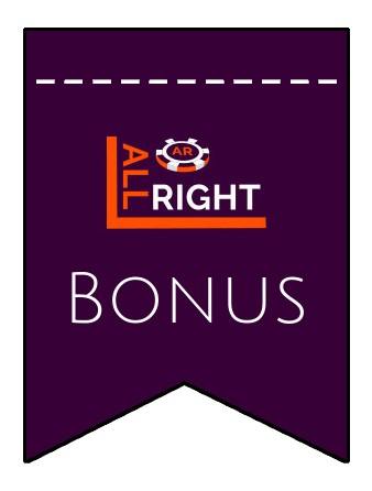 Latest bonus spins from All Right Casino