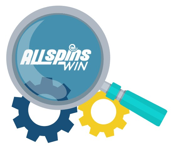 All Spins Win Casino - Software