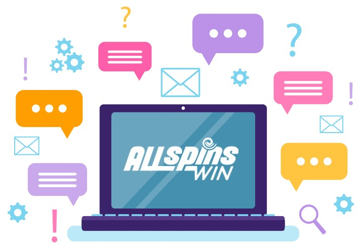All Spins Win Casino - Support