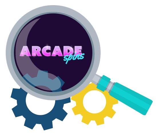 Arcade Spins Casino - Software