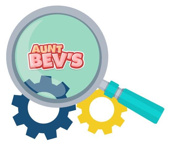 Aunt Bevs Casino - Software