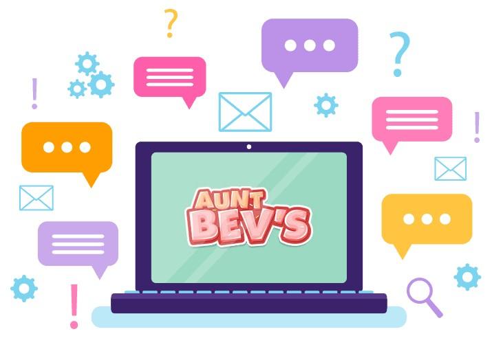 Aunt Bevs Casino - Support