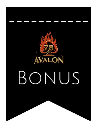 Latest bonus spins from Avalon78