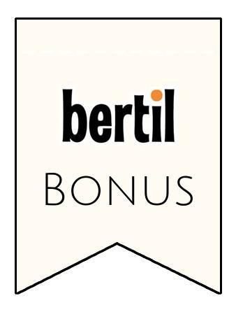 Latest bonus spins from Bertil Casino