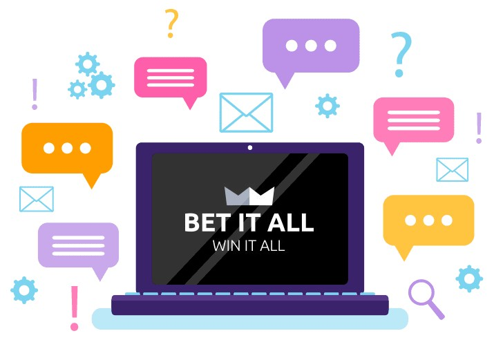 Bet it All Casino - Support