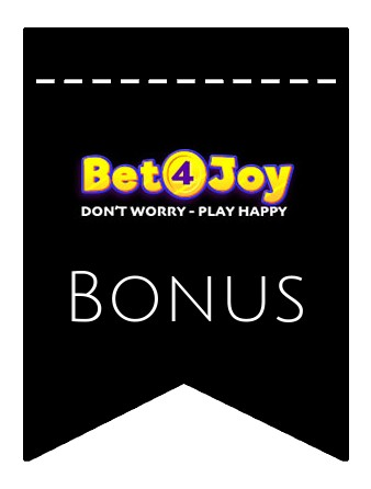 Latest bonus spins from Bet4Joy