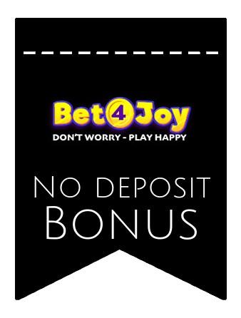 Bet4Joy - no deposit bonus CR