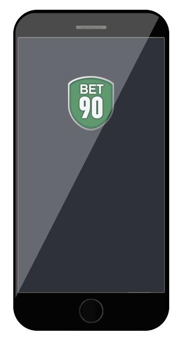 Bet90 Casino - Mobile friendly