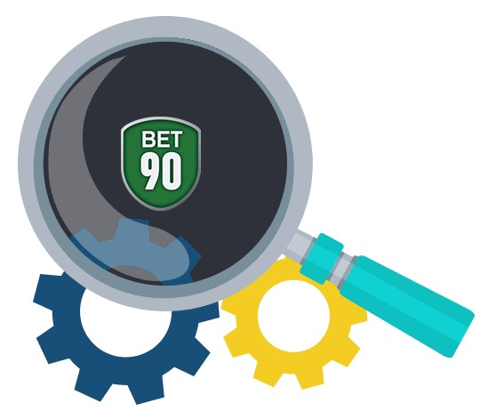 Bet90 Casino - Software