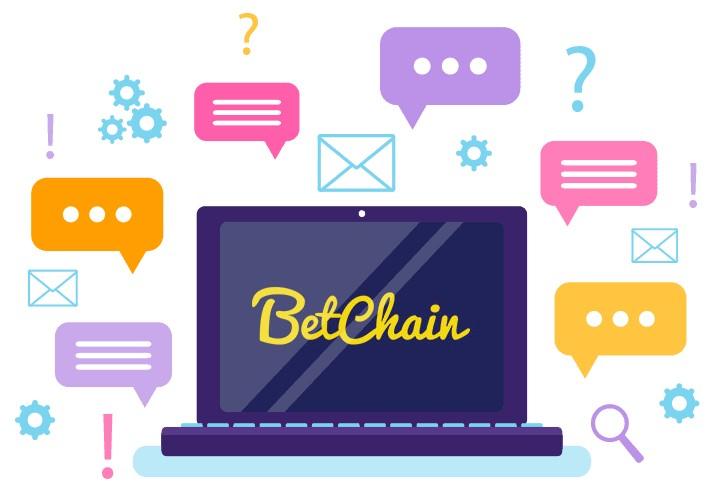 BetChain Casino - Support