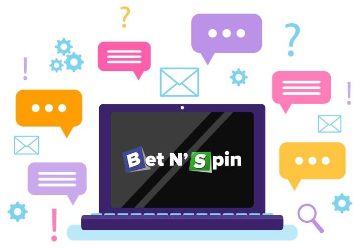 BetNSpin Casino - Support