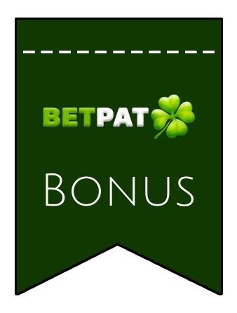 Latest bonus spins from BetPat