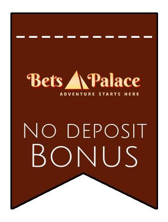 BetsPalace - no deposit bonus CR