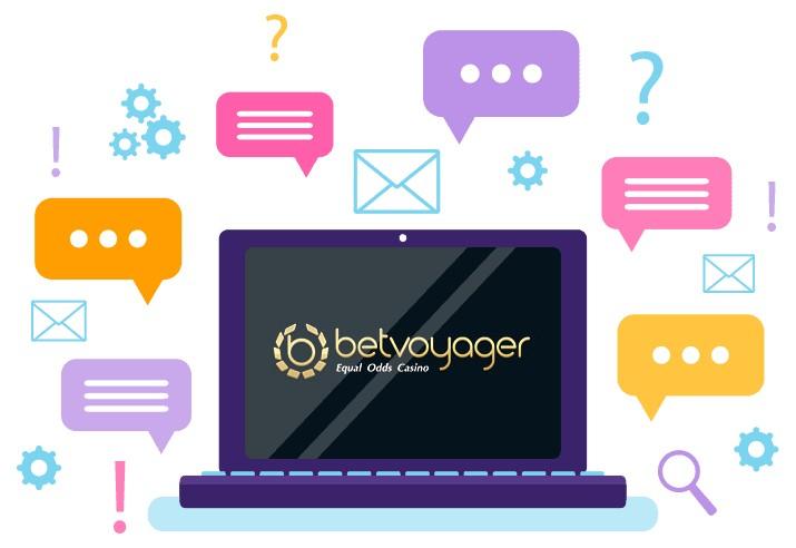Betvoyager Casino - Support