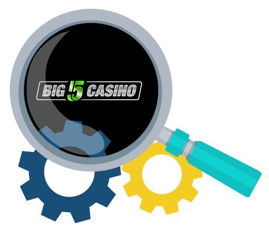 Big 5 Casino - Software