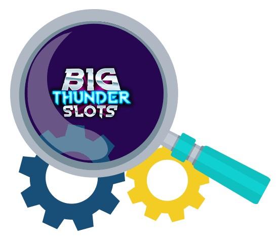 Big Thunder Slots - Software
