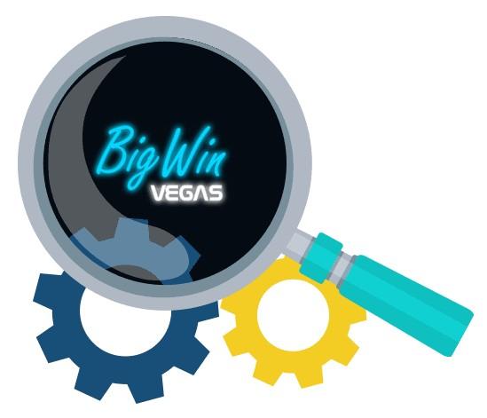 Big Win Vegas Casino - Software