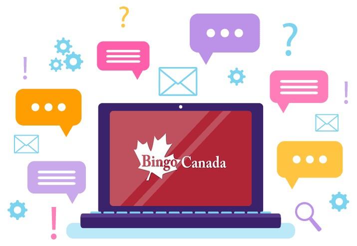 Bingo Canada - Support