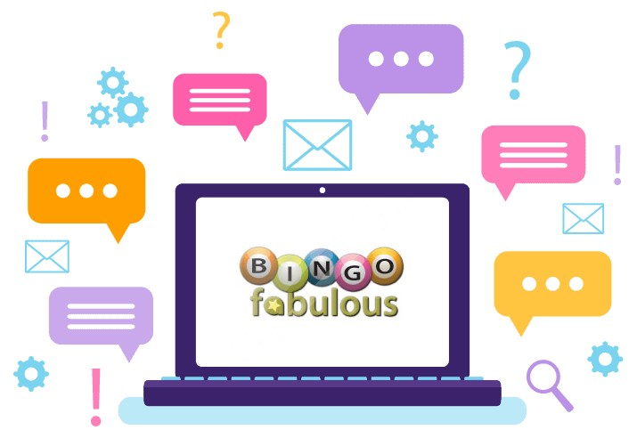Bingo Fabulous Casino - Support