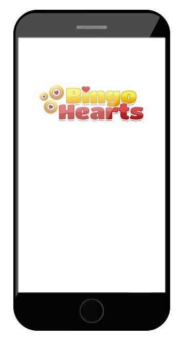 Bingo Hearts Casino - Mobile friendly