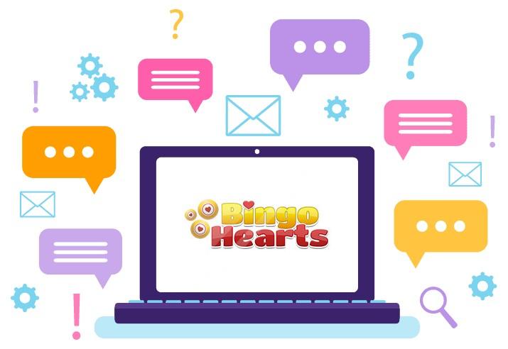 Bingo Hearts Casino - Support