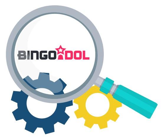 Bingo Idol Casino - Software